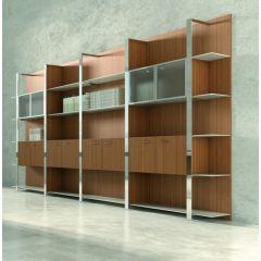 Boiserie modulaire boekenkast